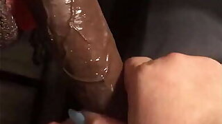 Deepthroat queen dezzy eating candy together with Dig up part 1