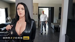 Big Butts Willy-nilly Big - (Angela White,  Zach Wild) - Busting On Dramatize expunge Sneak-thief - Brazzers