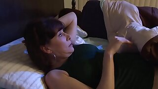 Hot Grown-up Real Amateur MILF WIFE´s Naughty and Sexy Big Baleful Cock Dreams