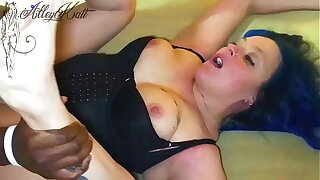 AlleyKatt Cums w gargantuan BBC Creampie EPIC